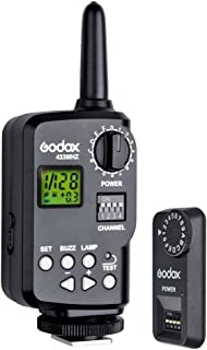 Godox FT-16S 无线电源控制器远程触发器,适用于 Ving V850 / V860C 黑色