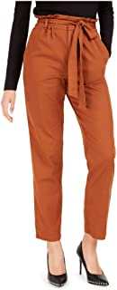 Bar III 女式棕色束带裤尺码 XXL