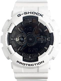 G-Shock GA-110 Garish Trending 系列男式奢华手表 - 白色/均码