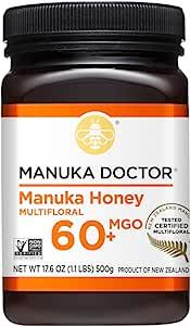 Manuka Doctor 20+活性麦卢卡蜂蜜 1.1 磅(500g)