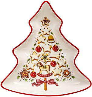 Villeroy & Boch 德国唯宝 碗 陶瓷 多色 17 x 0.1 x 0.1 厘米 圣诞主题 树(小号)