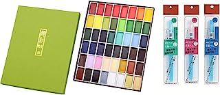 吴竹 Gansai Tambi 36色系列 48 colors with 3 water brush pen MC20