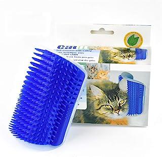 Vogue 鹅猫自梳刷,猫自梳,猫角按摩梳*刷工具,适用于小猫小狗,带猫薄荷袋按摩玩具
