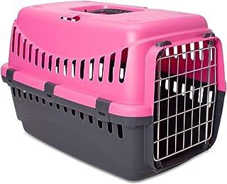 MP Bergamo 运输篮 Gipsy 金属 适用于猫 13 千克 粉红色