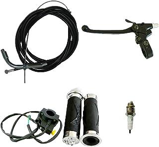 离合拉杆和节气门电缆离合器电缆适用于 49/66/80cc 电动自行车
