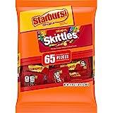 SKITTLES & STARBURST Fun Size Variety Mix 31.9-Ounce Bag 65…