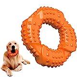 Feeko 狗狗玩具 适用于强力咀嚼器 大型品种 天然橡胶持久狗狗玩具 *顽固的小狗咀嚼玩具 适用于中小型犬 - 咀嚼…