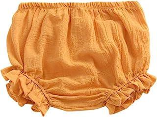 新生女婴男孩儿童棉麻灯笼裤短裤尿布套