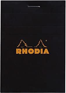 RHODIA 罗地亚 法国 经典上翻笔记本 黑色 N11方格 112009