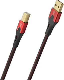 Oehlbach USB-Evolution LI 25(优质 USB-A 苹果闪电线)D1C9421 USB-A auf USB-B 1.00m