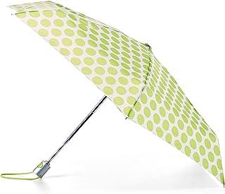 TOTES NeverWet 自动打开迷你雨伞,99.06 厘米遮盖,*圆点