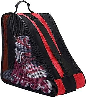 儿童溜冰袋 牛津溜冰袋 滑冰鞋 携带包 滑冰靴 单肩包 可调节肩带 手提箱 三角手提袋 溜冰手袋 儿童滑冰 走路