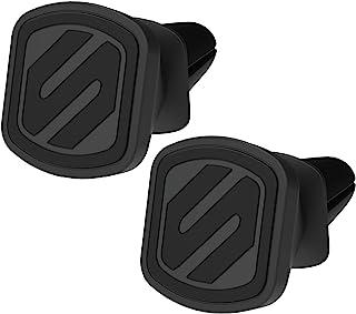 SCOSCHE MMV-2PKXCES0 MagicMount 精选磁性通风口支架,适用于车辆,黑色 (2 件装)