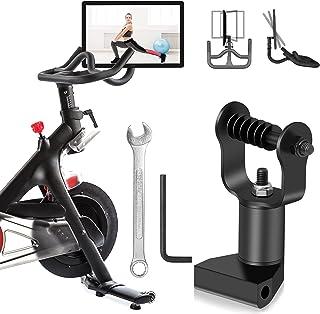 Peloton 自行车屏幕显示器调节器,360 度旋转和高度可调节航空铝枢轴,用于Peloton 自行车,健身自行车配件(不适用于Peloton Bike+)
