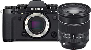 Fujifilm 富士 X-T3 无反光数码相机X-T3 Camera w/XF16-80mm Lens Kit -Black  W/ XF16-80mm Lens Kit 黑色