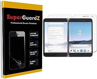 [3 件装] 适用于 Microsoft 微软 Surface Duo 屏幕保护膜 - SuperGuardZ,超清晰,防刮,防气泡[终身更换]