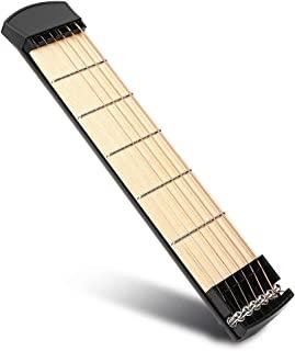 Caredy 便携式吉他,耐用轻便 6 Fret 吉他,适合专业吉他手