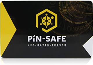 PIN-Safe 卡离线数据*适用于 Android 和 iOS ,包括* 2 张卡。