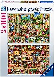 Ravensburger 拼图 89691 89691 - Colin 2 x 1000 片拼图,适合成人和14 岁以上儿童,2 合 1 特别版,带 Colin Thompson 主题。