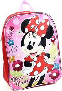 "Girl Minnie Mouse 15"" 背包 红色 大"