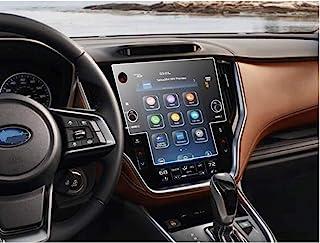 SATIS 屏幕保护膜兼容 2020 2021 Subaru Outback Legacy Starlink 11.6 英寸触摸屏,防刮,无气泡,9H 硬度钢化玻璃。