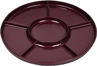 珍珠金属 紫红色 漆器风格切工板 【日本制】 赤溜 D-507