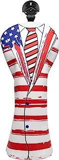 高尔夫球杆套,美国国旗高尔夫杆杆杆杆头套