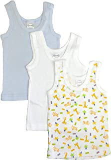 婴儿无袖背心 * 纯棉衬衫和短袖 T 恤,适合 0-24 个月的男孩、女孩或中性