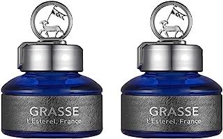 Bullsone Grasse L'esterel 天然汽车空气清新剂,豪华汽车香水 - 那不勒斯蓝色香味(2 件装)
