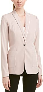 T Tahari 女式 Riesling One Button Crepe 外套