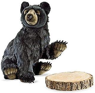 Hansa Bear Cub 毛绒玩具,黑色