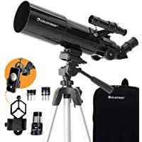Celestron 22030 Travel Scope 80 Portable Telescope with Smar…