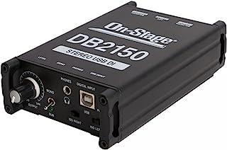 On-Stage DB2150 立体声 USB DI 盒