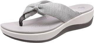 Clarks 女童 Arla Glison 后带挑空式凉鞋