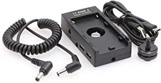 SZRMCC NP-F970 F550 L 系列电池多功能板,带 USB DC 12V 8V 输出电源适配器,适用于相机显示器