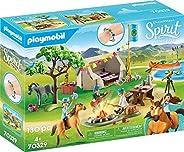 PLAYMOBIL 摩比世界 70329 DreamWorks 夏日露营 带幸运和精神 适合 4 岁以上儿童