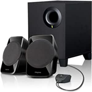 Creative 创新 SBS A120 2.1声道多媒体音箱(黑色)
