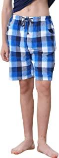 BYXKIDS 大男孩短裤,宽松亚麻棉*休闲短裤尺码 10 12 14 16
