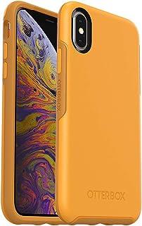 OtterBox Symmetry系列 手机保护壳(适用于iPhone Xs和iPhone X)-零售包装-Aspen Gleam(柑橘/向日葵)