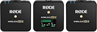 Rode Wireless GO II 双通道紧凑数字无线麦克风系统