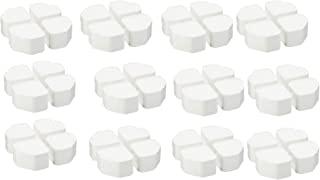 因幡电工(INABA DENKO) 洗衣机防震台 蓬松 OP-SG600 白色 12袋套装