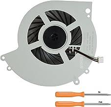 Rinbers 内置 CPU GPU 冷却冷却风扇替换零件适用于索尼 Playstation 4 PS4 CUH-1215A CUH-12XXA 系列控制台 500GB KSB0912HE 带工具套件