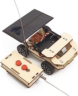 DPDSCVY DIY 科学手工太阳能玩具系列套件,多种款式的 STEM 教育玩具套件,可培养对科学的兴趣,适合 6 岁以上儿童(太阳能遥控车)