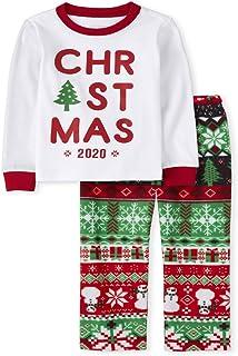 The Children's Place 女婴圣诞睡衣套装