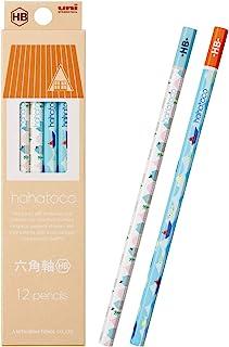 MITSUBISHI 三菱铅笔 书写铅笔 hahatoco HT01 HB 大海&家 1打12支装 K5071HB
