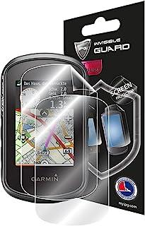 IPG 适用于 Garmin eTrex Touch 35 手持式 GPS 触摸屏保护膜隐形超高清透明膜防刮皮肤保护 - 光滑/自愈/无气泡,适用于 Touch 35