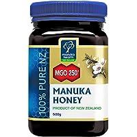 Manuka Health 麥盧卡蜂蜜 MGO 250+ (500g) - 源自新西蘭,經認證的甲基乙二醛含量
