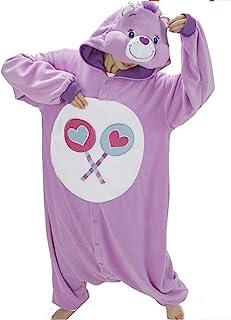 Katara 1744 – 幸运小熊奇连体服, 零件-熊奇, 派对狂欢节服装,服装,睡衣,家居服,慢跑服,角色扮演,动物服装紫色