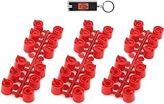 3 套猎人红色标准喷嘴架适用于 PGP-ADJ 系列,130900 红色喷嘴树适用于 PGP 转子,3 个喷嘴套装适用于非超 PGP 洒水器头 130900SP (10629) 随附 LED 钥匙扣灯