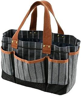Sophie Conran 花园工具收纳袋带 8 个口袋 | * 纯棉 | 防水涂层 | 擦拭衬里 |
